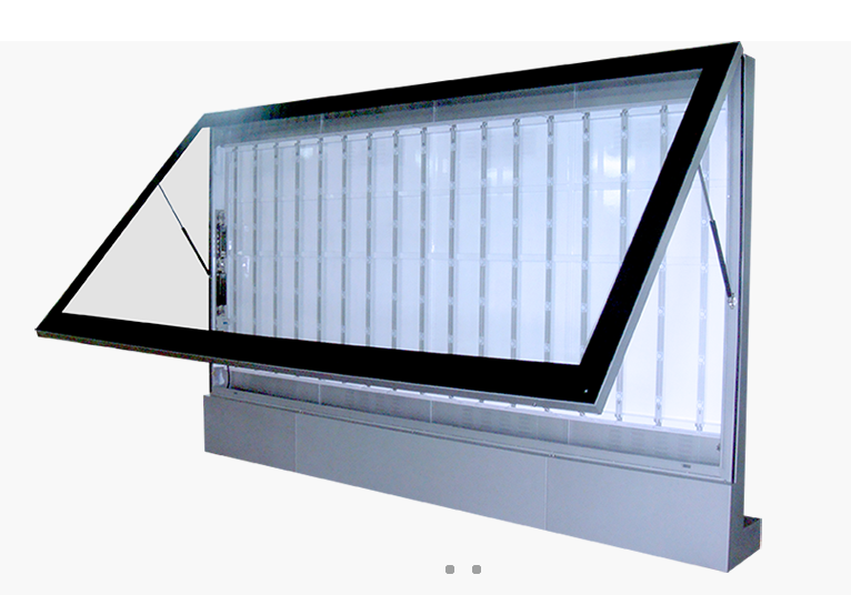 Specialized led backlight for ad lightbox