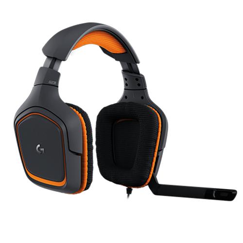 Logitech 'g231 prodigy gaming headset  part no: 981-000627