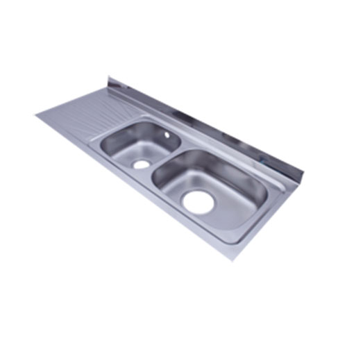 Stainless steel sinks- esd--150x60