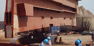 Ship repair and structural steel work