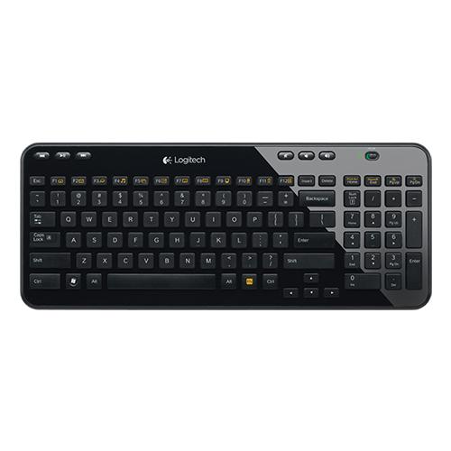 Logitech wireless keyboard k360 ara space saving, full-size keyboard part no:920-003078 (ara)