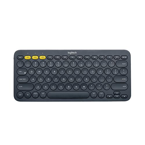 Logitech k380 multi-device bluetooth keyboard dark grey part no:920-007582