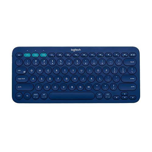Logitech k380 multi-device bluetooth keyboard blue part no: 920-007583