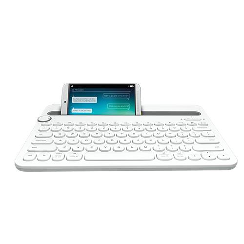 Logitech bluetooth multi-device keyboard k480 black/white part no: 920-006366 (black) part no: 920-006367 (white)