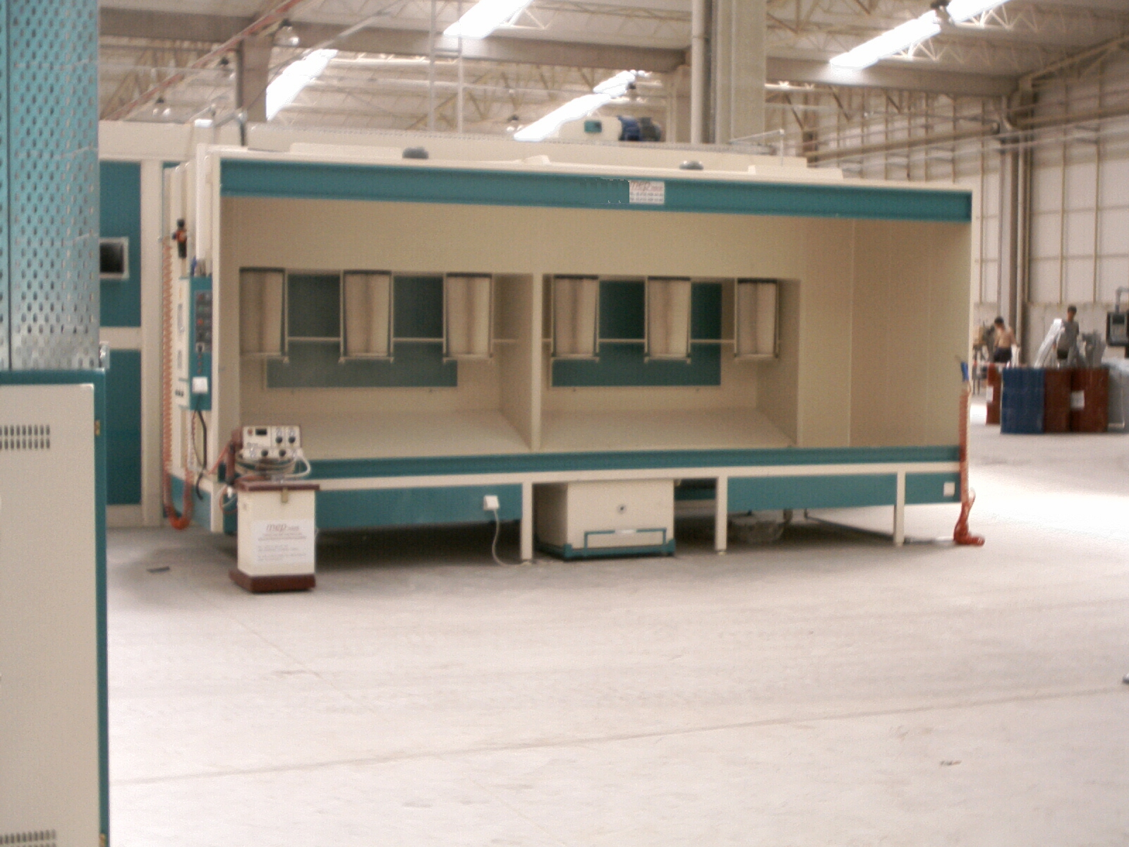 Electrostatic Powder Coating Booths_2