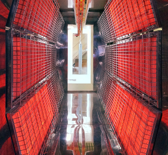 Infrared curing ovens / infrared powder coating curing ovens