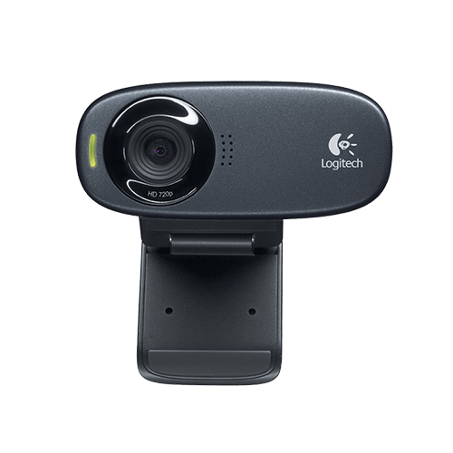 Logitech hd webcam c310  high-def video calls  part no: 960-000586