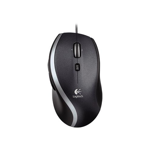 Logitech corded mouse m500 precision laser mouse part no: 910-003726