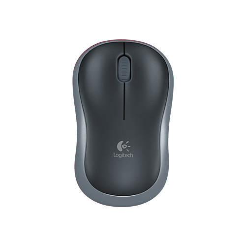 Logitech wireless mouse m185  plug-and-play wireless  part no: 910-002235 (grey) part no: 910-002236 (blue) part no: 910-002237 (red)