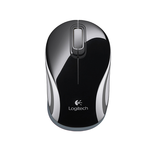 Logitech wireless mini mouse m187  pocket-size mouse  part no: 910-002731 (black) part no: 910-002735 (white)