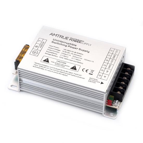 12v dc 5 amp aluminium crust uninterruptible power supply