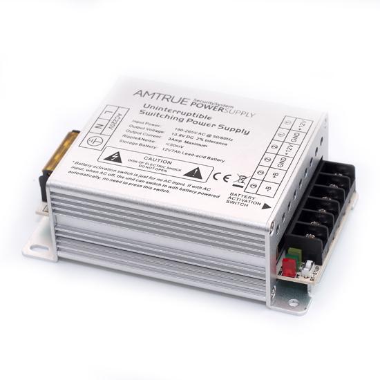 12v dc 3 amp aluminium crust uninterruptible power supply