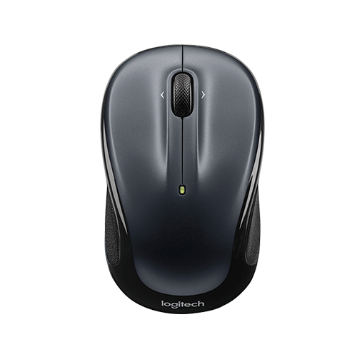 Logitech wireless mouse m325  designed for web scrolling  part no: 910-002142 (dark silver) part no: 910-002334 (light silver)
