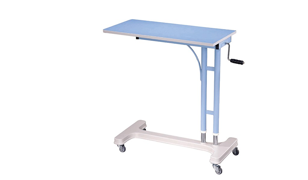 Overcouch patient dining table