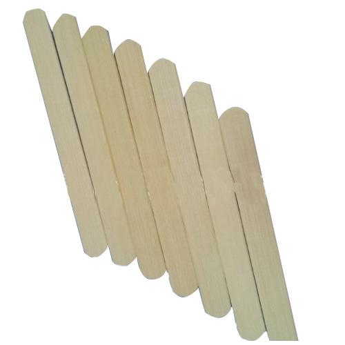 Bamboo tongue depressor