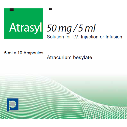 Atrasyl 50 mg/5 ml for solution i.v. injection or infusion