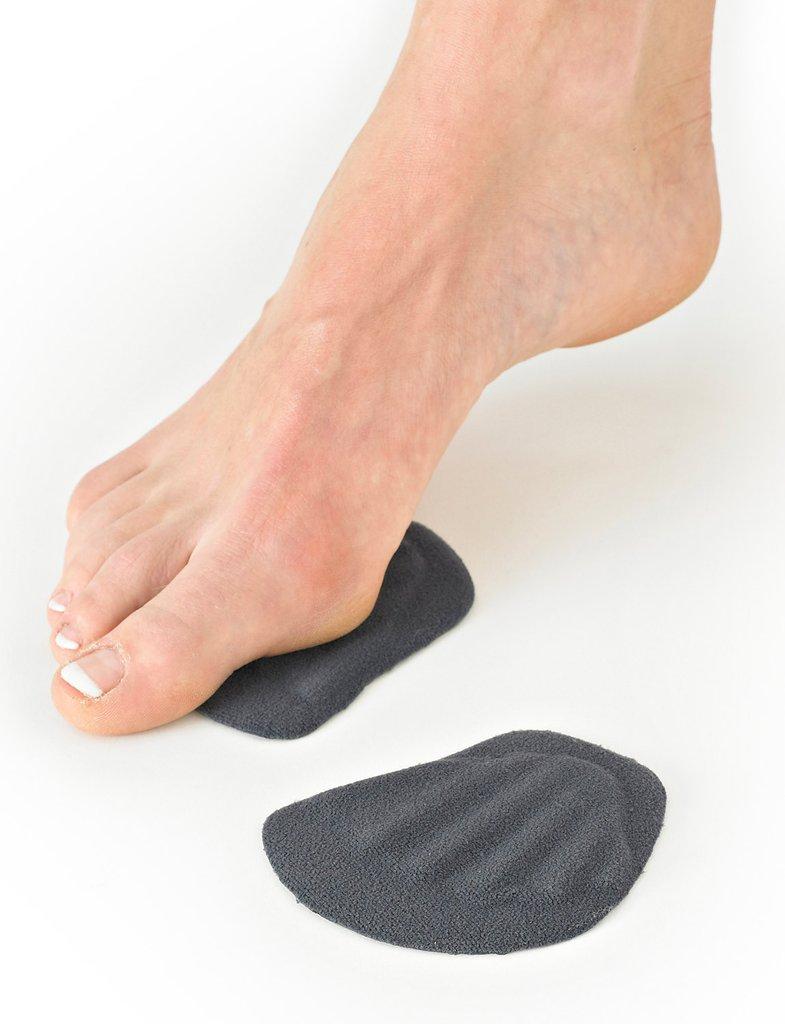 Adhesive silicone metatarsal pad