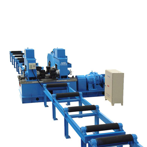 H beam flange straightening machine