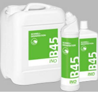 Ino b45 quick - acting disinfectant