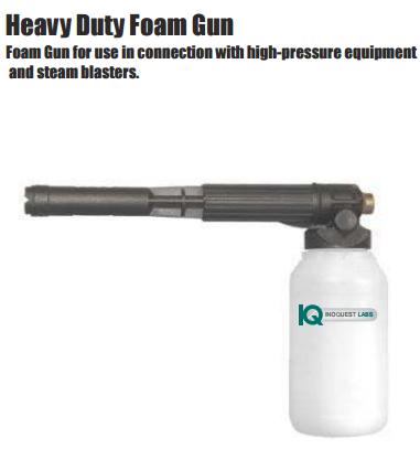 Heavy duty foam gun