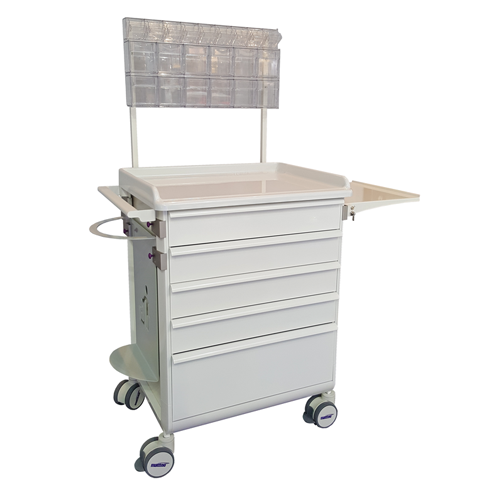 Modu-flex modular trolleys with telescopic drawers