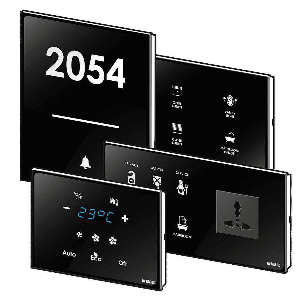 The interel guest control panels