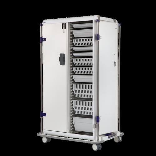Modu-flex modular container trolleys with doors