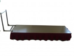 Coffin presentation trolley
