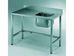 Wet lab benches with sink