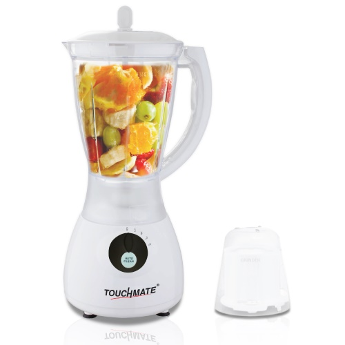 TOUCHMATE Smart Blender with Grinder - 300W, Multi-Function Option: Blending, Grinding Made Easy, White (TM-BL2002JW)_2