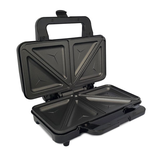 TOUCHMATE Sandwich Maker - 800W, Non-Stick coated plates, 50% Energy Saver (TM-SDM200S)_4