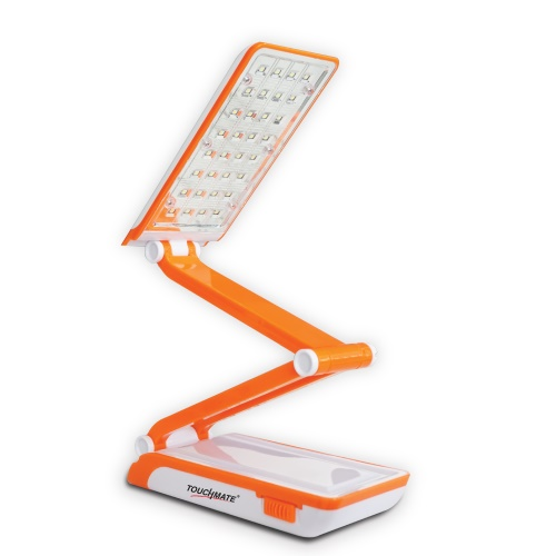 Touchmate solar led rechargeable & foldable lamp 2000mah battery,