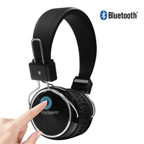 Touchmate rechargeable bluetooth headphone with touch control (tm-bth600)