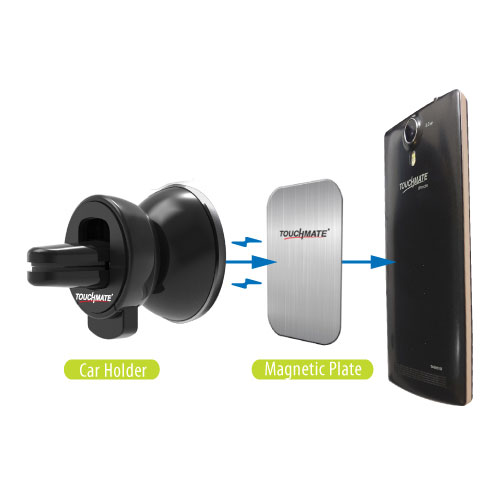TOUCHMATE Magnetic Universal Mobile Car Holder (TM-CH100M)_4
