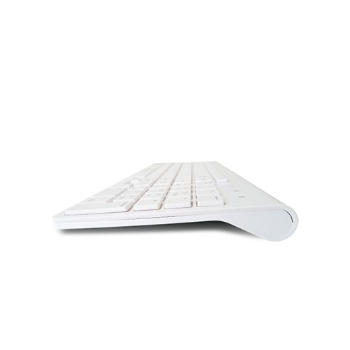 TOUCHMATE Wireless Slim Chocolate Keyboard & Mouse, White (TM-KB9999AN)_3