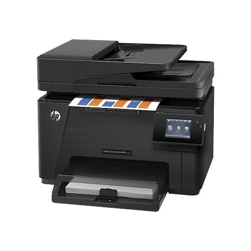 Hp color laserjet pro multi functional printer m177fw (cz165a)