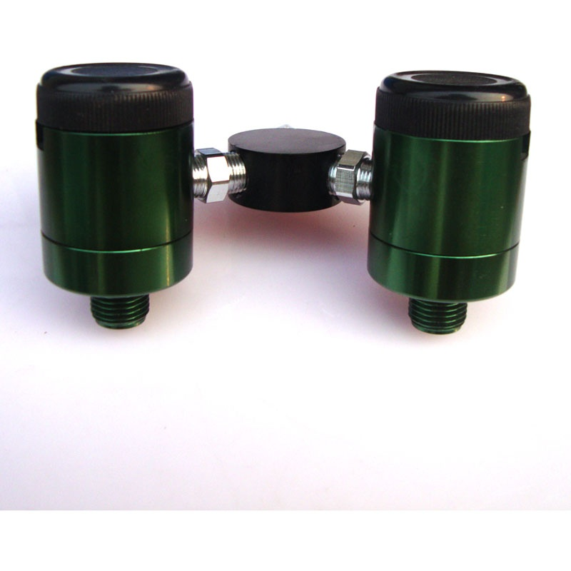 Click style flowmeter double flowmeter