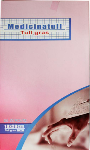Medicina tull 10x20 cm (tull gras)
