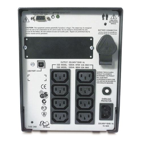 APC Smart-UPS 1000VA USB & Serial 230V  (SUA1000I-IN)_3