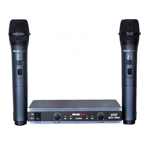 MediaCom MCI 3300 Pro DVD Karaoke Player + MCI 799U Wireless Microphones_3