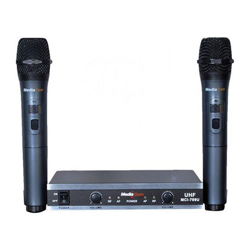 Mediacom mci 799u wireless microphones