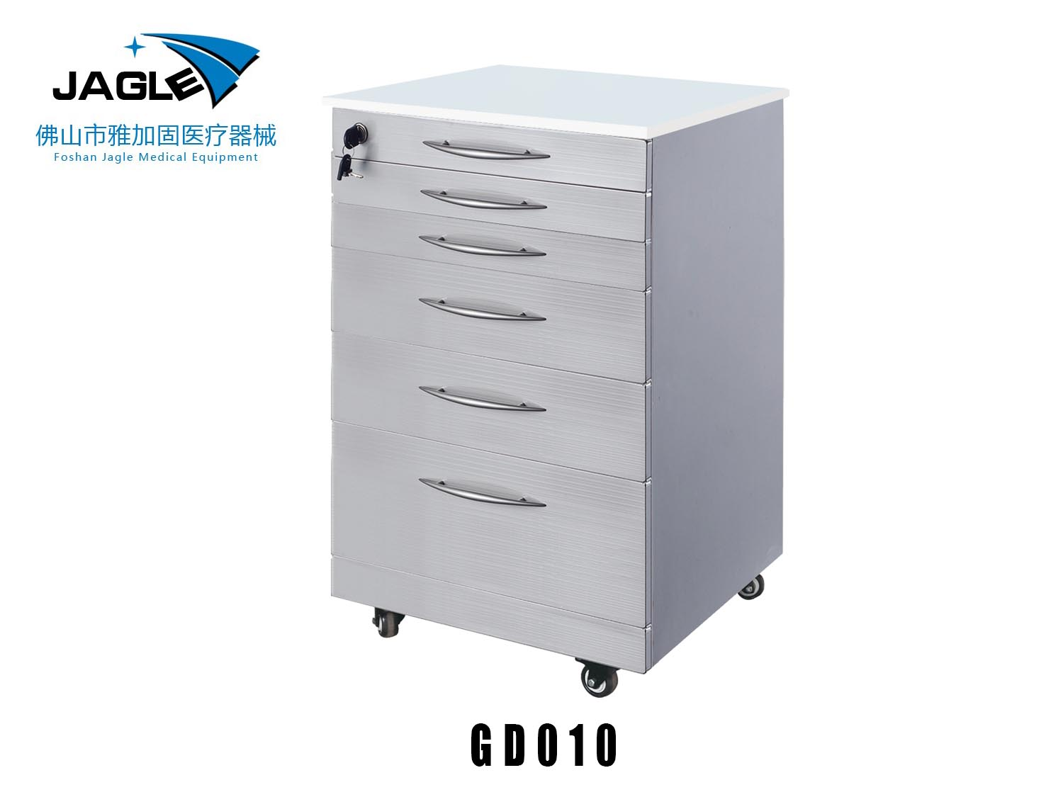 Stainless steel single function cabinet