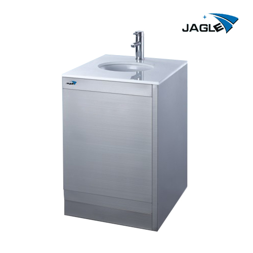 Wash cabinet- with sensor faucet