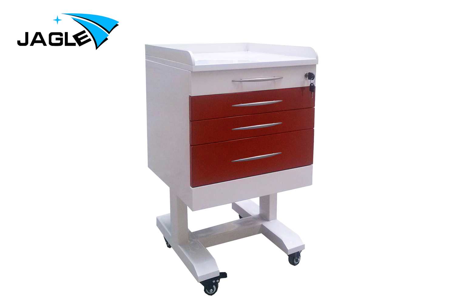 Stainless steel mobile cabinet