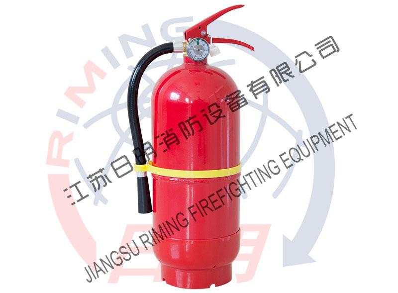 Fire extinguisher with korea standard