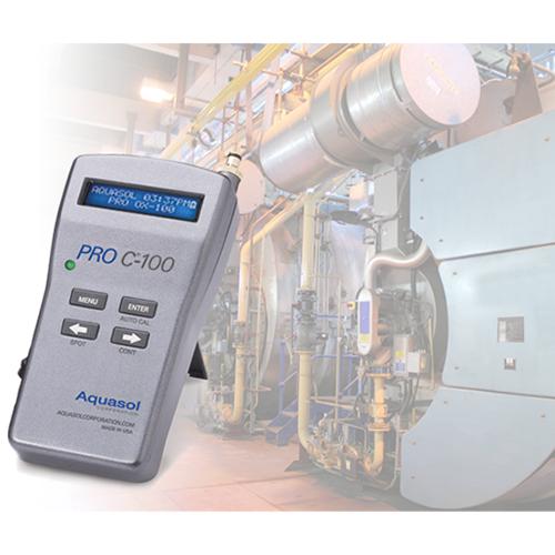 Pro c-100 kit programmable digital combustion analyzer