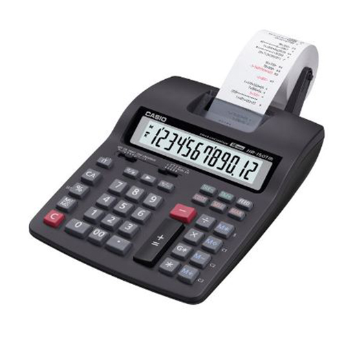 Printing calculators hr-150tm