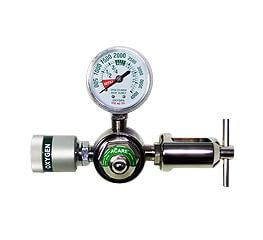 Central type oxygen regulator - aci-9-cga-vsc-310