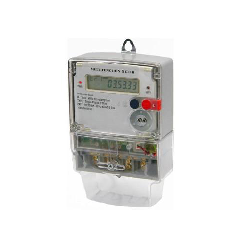 Single phase energy meter-iec type