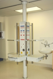 Hu4-ff floor to ceiling mounted pendant